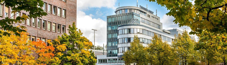 Zahnarzt Praxis Drong Hamburg Altona Aussenansicht Holstenplatz Slider