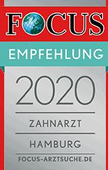 Auszeichnung von Focus 2020